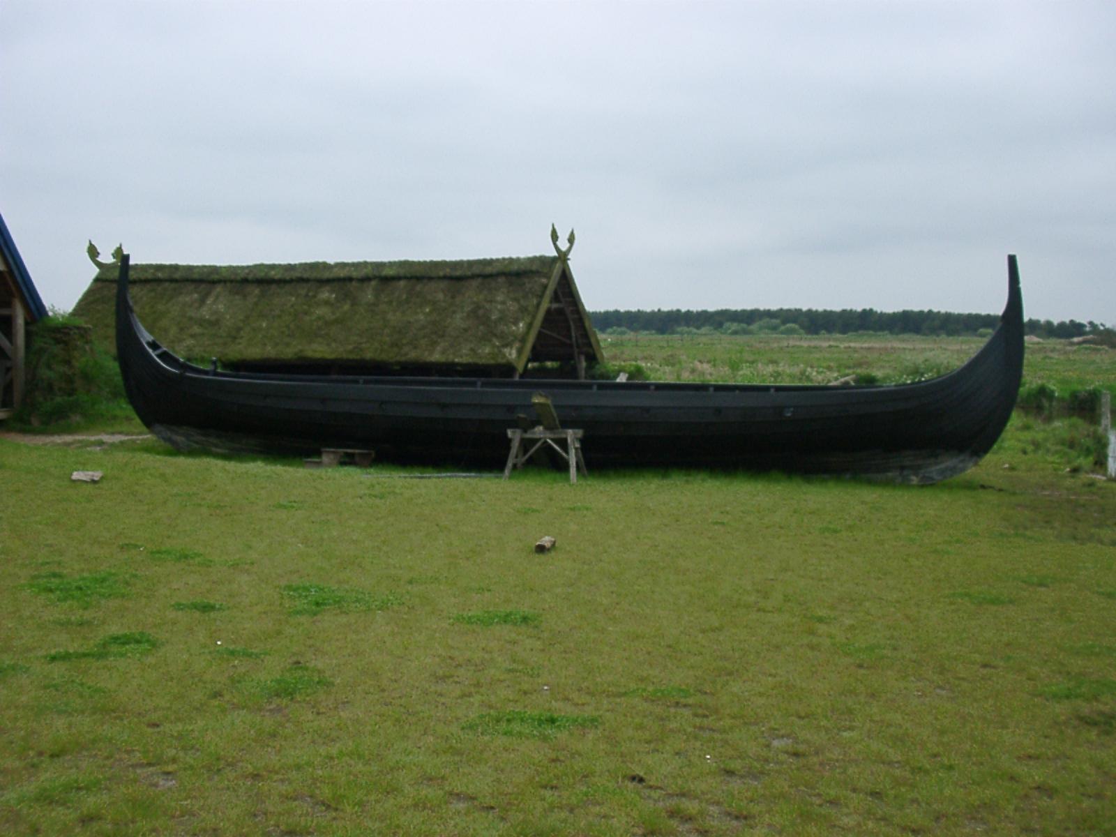 Schiff in Bork Vikingehavn