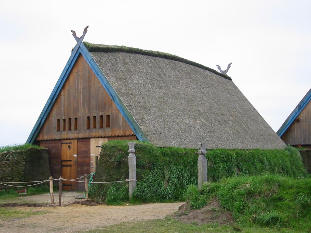 Gebäude in Bork Vikingehavn