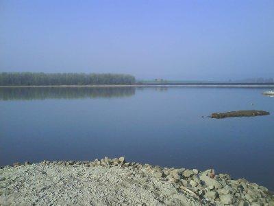 Blick auf den Stausee am Palumpa-Land