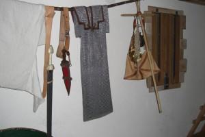 Kettenhemd eines römischen Legionärs