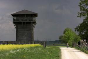rekonstruierter Turm am Limes