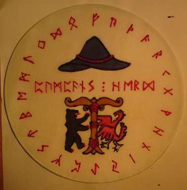 Logo von Pumpans Herd im VfGH e.V. als Fensterbild